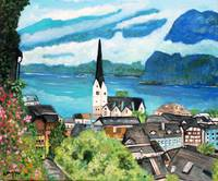 The village of Hallstat