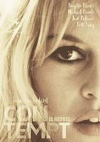 Brigitte Bardot, Contempt, Fritz Lang, Movie Poste