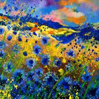 Summer feast Art Prints & Posters by pol ledent