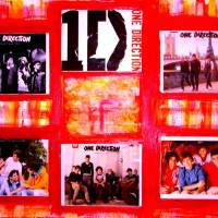 One Direction Poster for Liz Art Prints & Posters by Joyce MacPhee