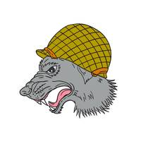 growling-grey-wolf-ww2-helmet-side-DWG_5000