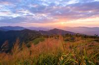 Phu Chi Fa Sundown