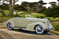 1934 LaSalle Fleetwood Convertible 'At the Links'_