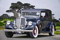 1932 Pierce-Arrow Model 54 Club Brougham