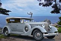 1934 Packard 1104 Super 8 Phaeton 'on the edge'