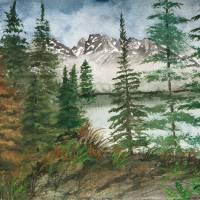 Jackson Hole Jenny Lake Art Prints & Posters by Derek McCrea