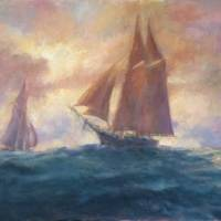 Starboard Passage Art Prints & Posters by Blaney Harris