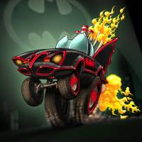 McBatmobile Art Prints & Posters by Dennis Jones