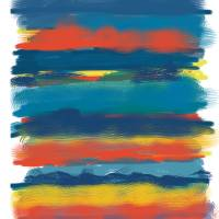 Modern Stripes Art Prints & Posters by Jan Weiss