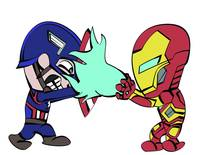 Captain America and Ironman Final