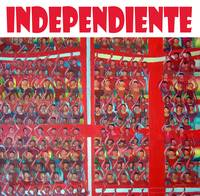 Hinchada de Independiente.