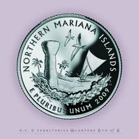 Northern Marianas Quarter  - Portrait Coin 56