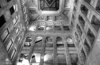 Historic Minneapolis City Hall and Courthouse BW 1