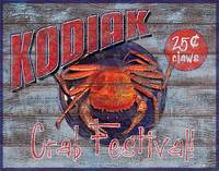 Kodiak Crab Festival Sign