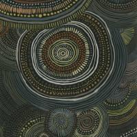 Aboriginal Ripples Art Prints & Posters by Christina O. Birch
