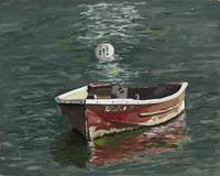 Red Dinghy Moored v3 20x16 300ppi