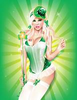 Saint Patricks Day Pin-up
