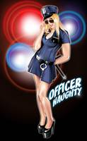 Officer Naughty Pin-up