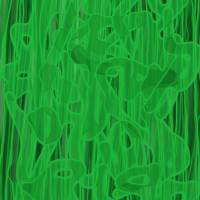green on green Art Prints & Posters by Amnon Mintz