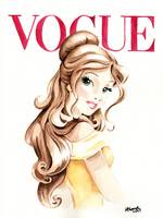 Belle. Vogue Magazine Cover.