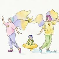 Frumpy Fairies Art Prints & Posters by Yvonne Carter
