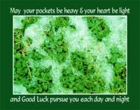 Good Luck & Clover