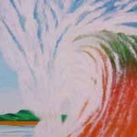 Crashing Wave Art Prints & Posters by Alina Deutsch