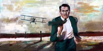 Cary Grant North By Northwest Crop Duster