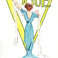 March 1911 Vogue magazine cover. Art Prints & Posters by Kasia Blanchard