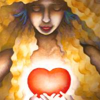 ellis_heart_lrg Art Prints & Posters by Toni Pawlowsky