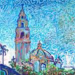 California Tower Balboa Park by RD Riccoboni