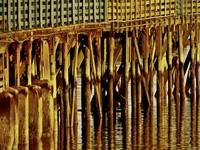Under The Boardwalk Wall Art Print