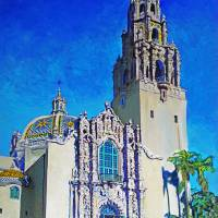 Museum of Man Balboa Park Art Prints & Posters by RD Riccoboni