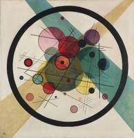 Circles in a Circle Wassily Kandinsky, 1923