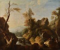 Circle of Salvator Rosa (Napoli 1615-1673 Roma), R