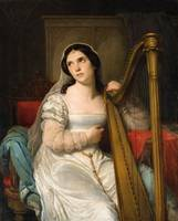 Cornelis Kruseman, The Harp Player