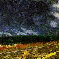 The Remains of the Road Art Prints & Posters by RC deWinter