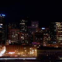 Supermoon Over Denver Art Prints & Posters by Santomarco Photography