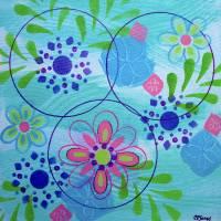 Circle Up Art Prints & Posters by Christine K. Jones