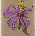 """Samurai Girl"" by mizuko"