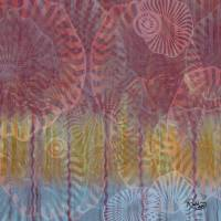 Tricolor Swirl Art Prints & Posters by RUTH PALMER