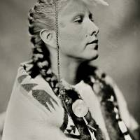 Floris White Bull Wet Plate NO DAPL! Art Prints & Posters by Shane Balkowitsch