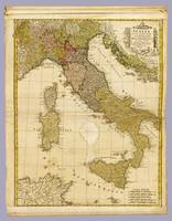 Italy 1790 Atla Antique Map