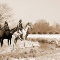 Blackfoot on the Buffalo Trail by I.M. Spadecaller