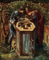 Edward Burne-Jones, The Baleful Head, 1886-87