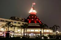 Hotel Coronado at Night