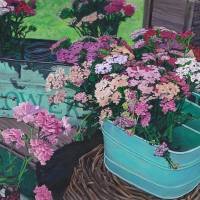 Farm Fresh Flowers Art Prints & Posters by Paige Wallis
