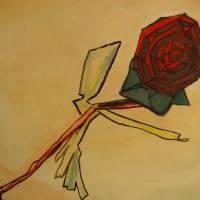 A Rose is a Rose Art Prints & Posters by Leon Sarantos