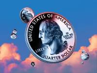 George Washington Quarter - Sky Coin 00