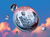 Alabama State Quarter - Sky Coin 22